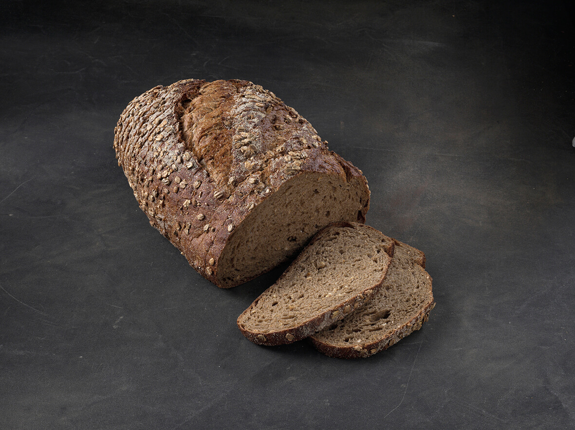 Jumbo Night Rye Batard Sliced