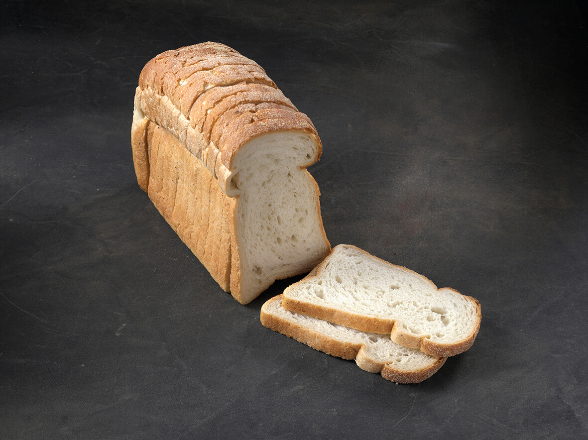 White Semi-Sourdough Sandwich Loaf Sliced