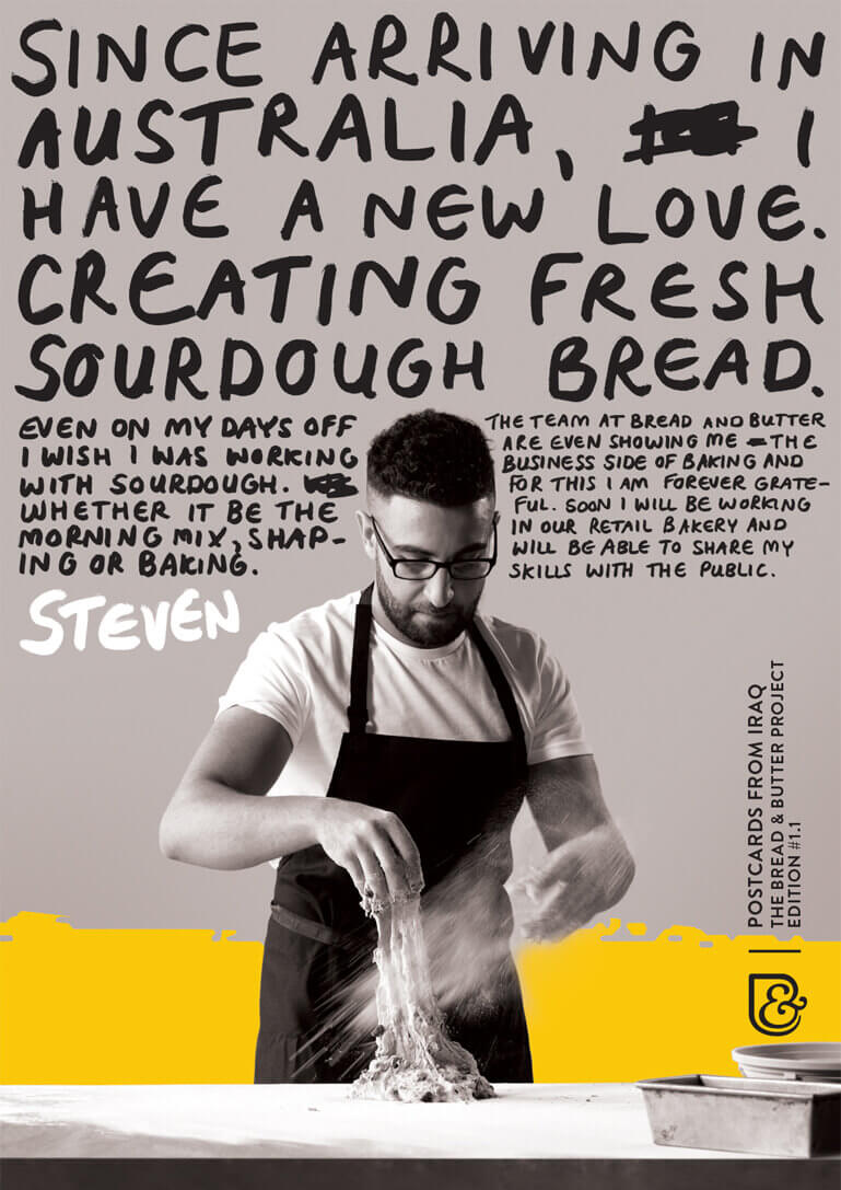 Poster: Baker preparing dough thumbnail
